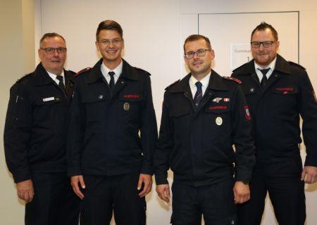 Führungswechsel bei der Kinderfeuerwehr der Freiwilligen Feuerwehr der Stadt Arnsberg