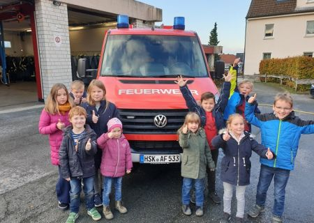 Start der Kinderfeuerwehr im Ortsteil Voßwinkel!