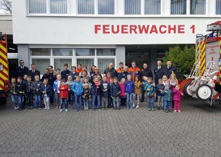 Die Feuerwehr der Stadt Arnsberg schließt die letzte verblieben Lücke der Kinderfeuerwehr Startschuss für die Löschgruppe Voßwinkel